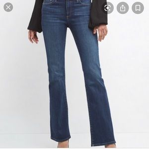 Gap sexy bootcut mid wash jeans 6L